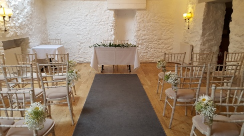 An intimate wedding at the lovely Bickley Mill