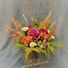A lovely rustic woodland walk bouquet