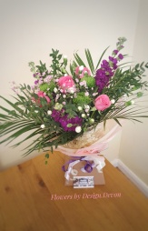 Pretty Birthday Bouquet Aqua Pack starts from £35.
