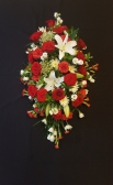 Red and white Double ended spray 3ft