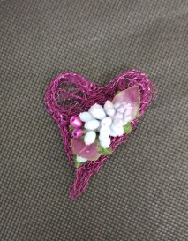 Alternative to a buttonhole. Wired design.