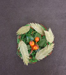 modern wired buttonhole