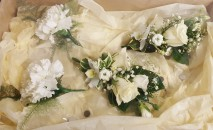 Buttonholes and Corsage